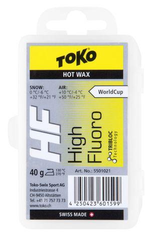 Картинка парафин Toko TRIBLOC HF 40 (0/-6) - 1