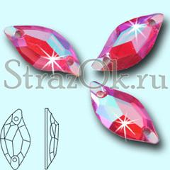Купите стразы пришивные Leaf Resin Rose AB для синхронного плавания