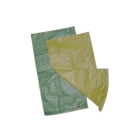 Мешки полипропиленовые зеленые (размер 55*95 см, вес 60 гр)