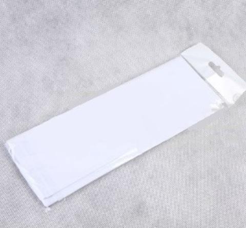 Бумага тишью 10 шт., 50x66 см, цвет: белый