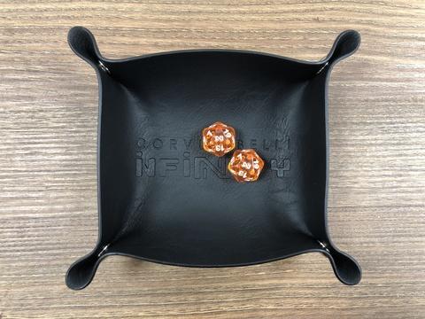 Кожаный дайстрей и два кубика Infinity – Event Tournament Pack