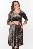 Платье для беременных 09087 зеленый
