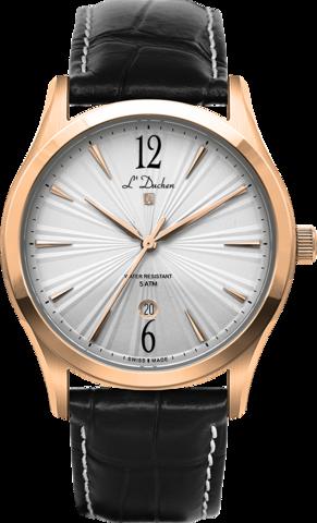 Купить Мужские швейцарские наручные часы L'Duchen D 161.41.23 по доступной цене