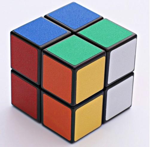 Скоростной кубик рубика 2x2x2