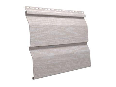 Сайдинг Ю пласт Тимберблок акриловый полярный кедр 3050х230 мм