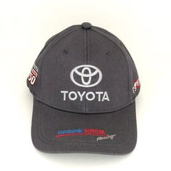 Кепка с вышитым логотипом Тойота (Кепка Toyota) серая
