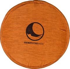 Складывающееся тканевое фризби Ticket to the Moon Pocket Frisbee Terracotta Orange