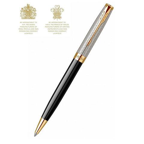 Шариковая ручка Parker Sonnet Fougere (2102302) Black GT Mblack