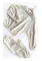 Костюм (свитшот и брюки) Ванильное мороженое