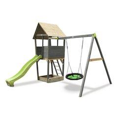 Игровой комплекс Exit Toys Aksent Wooden с качелями