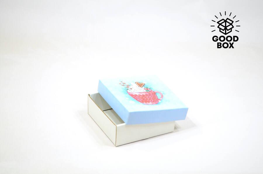 Новогодняя подарочная коробка купить недорого в Алматы