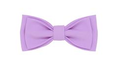 Однотонный галстук - бабочка (светло-сиреневый)