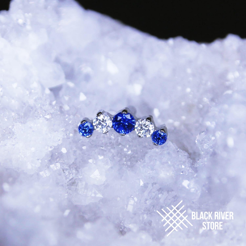 IS Prium Medium Blue Spinel / Crystal