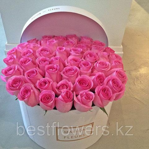 Коробка Maison Des Fleurs с розами 22
