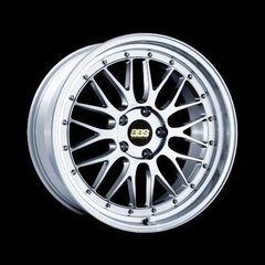 Диск колесный BBS LM 7x17 4x100 ET48 CB70.0 brilliant silver