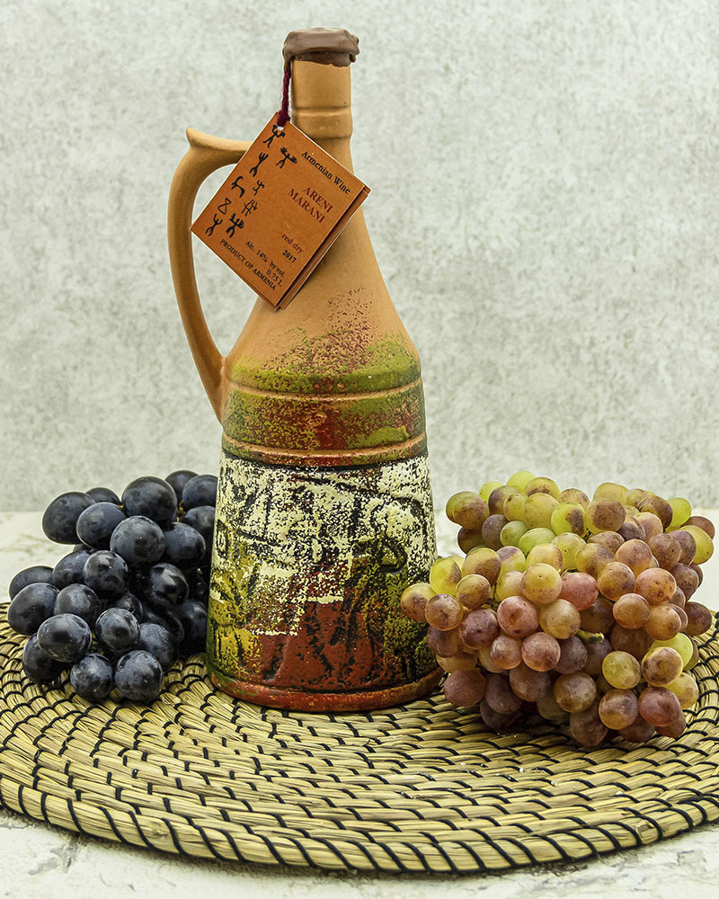 Вино Maran Winery Арени Марани Красное Сухое в Кувшине 2017 г.у. 14% 0,75 л.