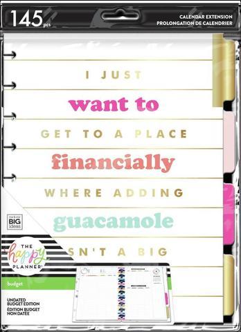 Внутренний блок  для планера Plan A Happy Life Classic Budget Extension Pack
