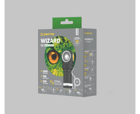 Мультифонарь Armytek Wizard C2 Magnet USB