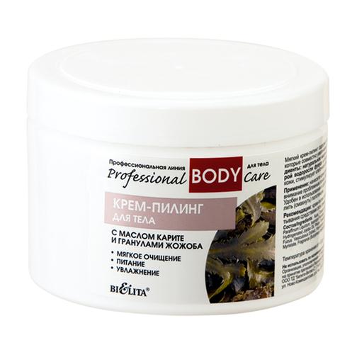 Крем–пилинг с маслом карите и гранулами жожоба для тела , 500 мл ( Professional Body Care )