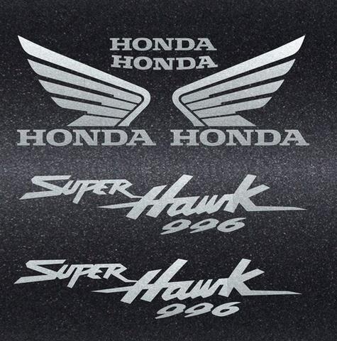 Набор виниловых наклеек на мотоцикл HONDA VTR 1000F SUPERHAWK 2003-2004