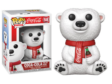 Coca Cola Polar Bear Funko Pop! Vinyl Figure