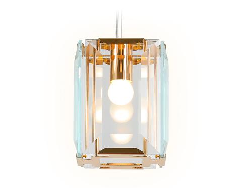 Подвесной светильник TR5108 GD/CL золото/прозрачный E27/1 max 40W 150*150*1200