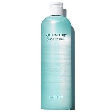 The Saem Natural Daily Skin Clearing Toner тонер для лица очищающий