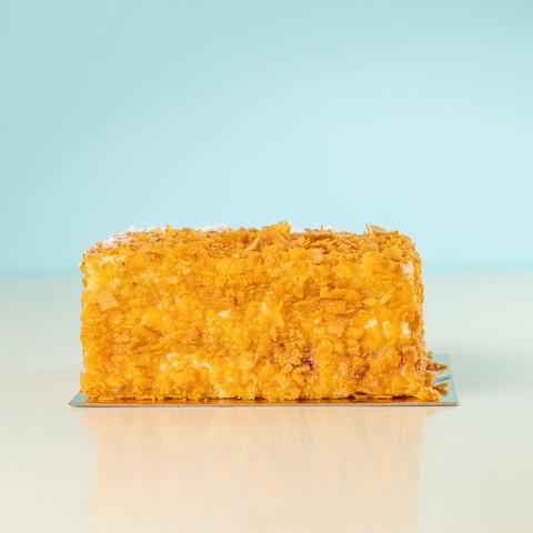 Торт сирний з малиною ваговий
