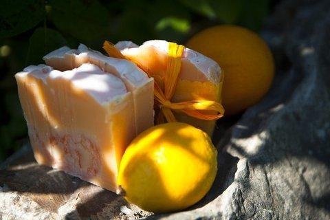 Органическое мыло Цитрусовое