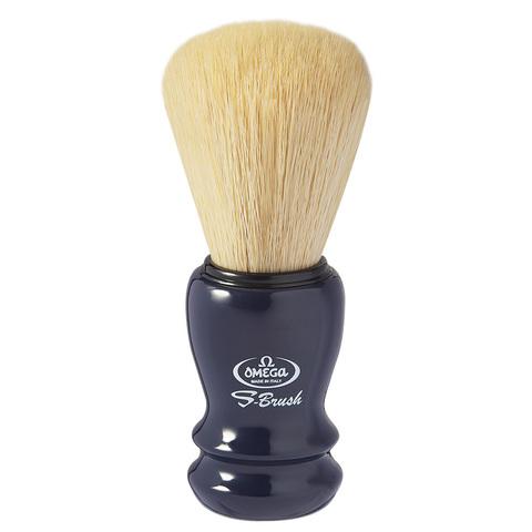 Помазок для бритья Omega Синтетика синий S10108