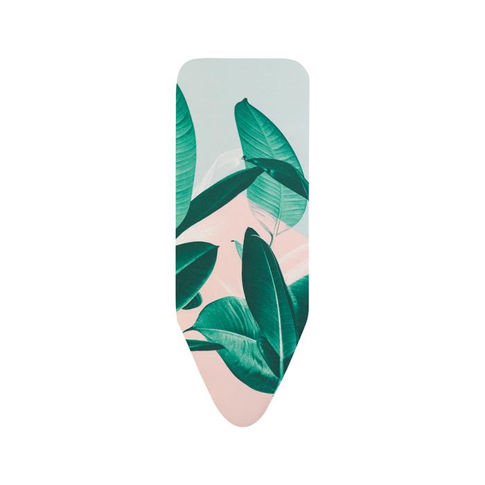 Чехол PerfectFit 124х45 см (C), 2 мм поролона, Тропические листья, арт. 118920 - фото 1