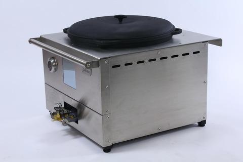Газовая печь для казана на 20-25 литров стационарная