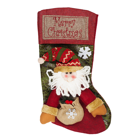 Носок для подарка Santa