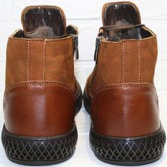 зимние ботинки на шнурках мужские