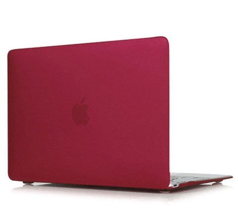 Накладка пластик MacBook Pro Retina 13.3 (2020) /matte wine red/ DDC