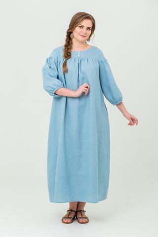 Платье льняное Босиком по росе для беременных