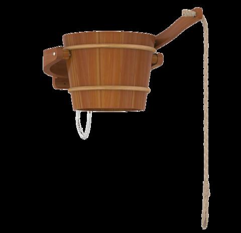 SAWO обливное устройство, кедр, 18л., 393-D