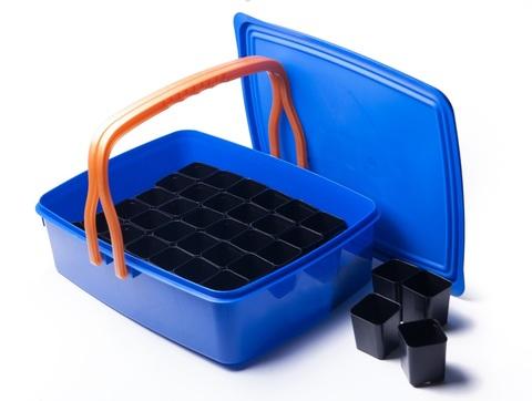 Набор для выращивания рассады в контейнере (42 стаканчика) ПИ-3-3ТХ