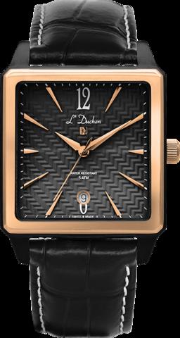 Купить Мужские швейцарские наручные часы L'Duchen D 451.91.21 по доступной цене
