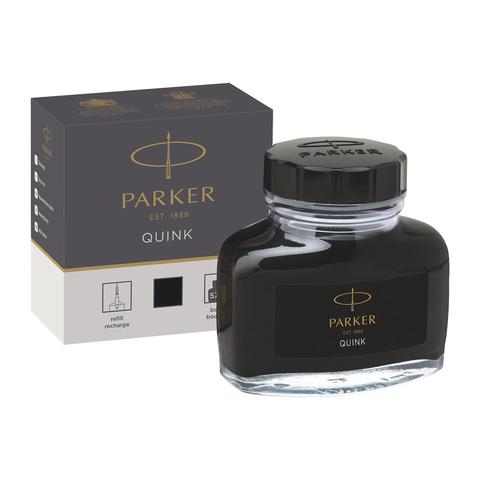 Флакон с чернилами для перьевой ручки Parker Z13, цвет: Black123