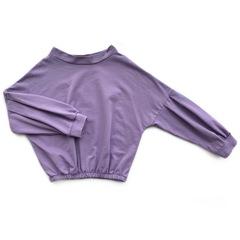 Костюм свитшот и брюки (Фиолетовый)