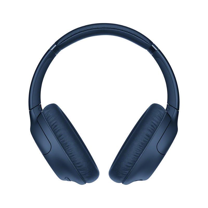 Беспроводные наушники Sony WH-CH710NL синие купить в официальном магазине