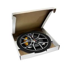 Часы в виде колеса Volvo S60