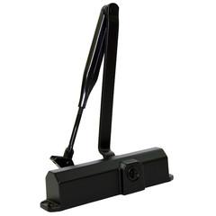 Доводчик Dormakaba TS Compakt с рыч.тягой, до 100 кг, тёмн-кор (67010103)