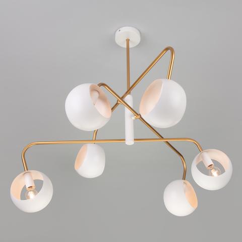 Подвесной светильник в стиле лофт 70055/6 белый