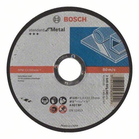 Отрезной диск Standard for Metal  125 х 2,5 мм
