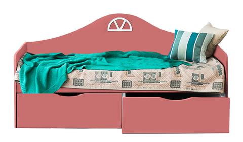 Диван-кровать подростковая с двумя ящиками