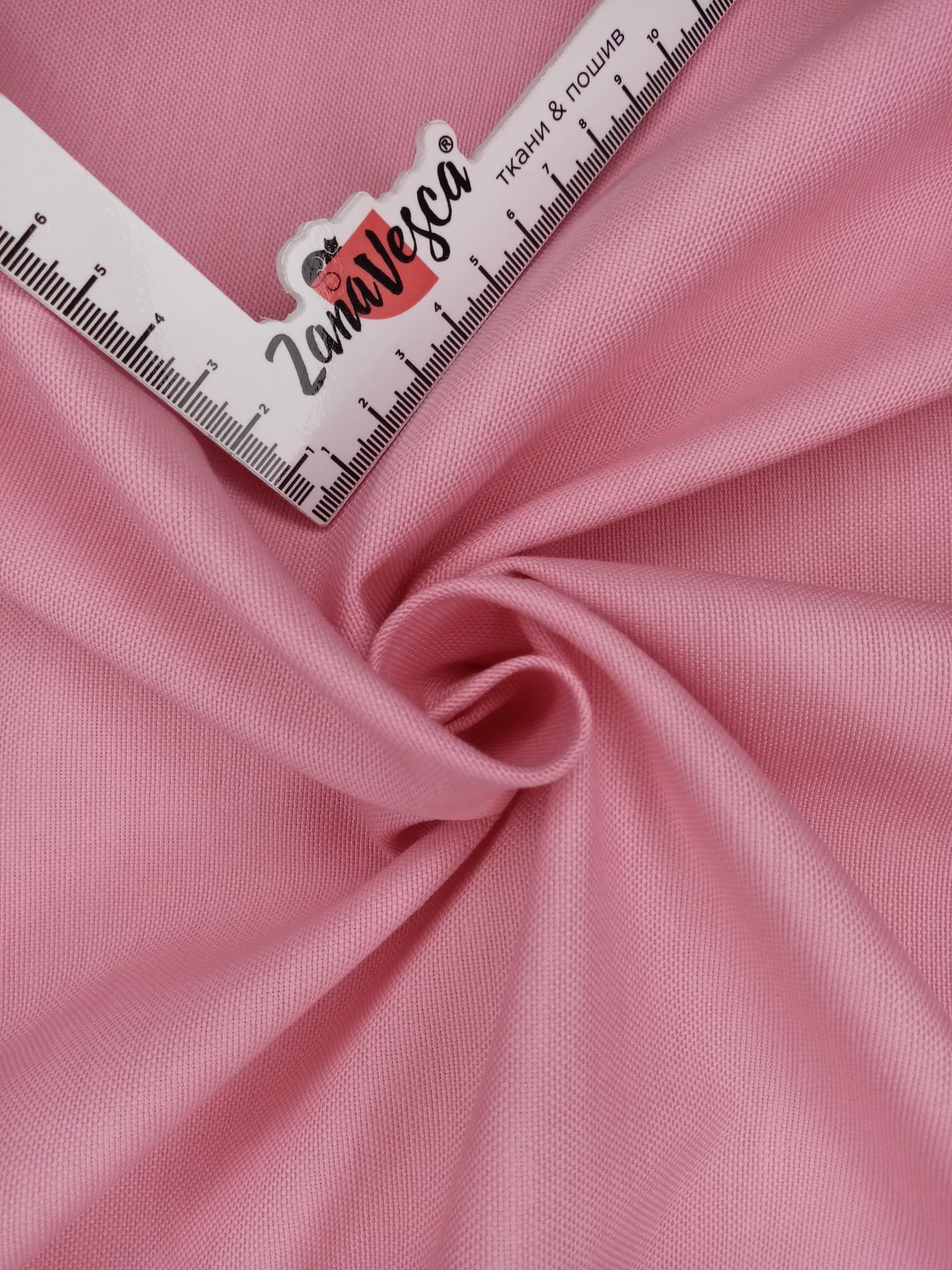 Ткань duck с тефлоновой пропиткой Розовый