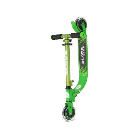 двухколесный самокат со светящимися колесами BLADE Kids Jimmy 125 зеленый
