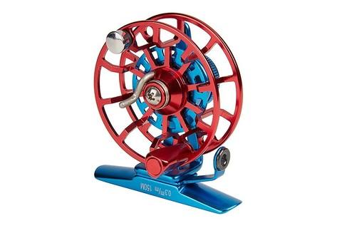 Катушка инерционная Higashi HI-55S Blue/Red